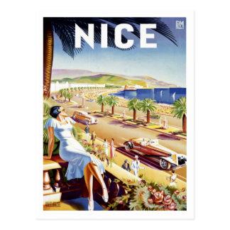 Cartão agradável do poster cartão postal