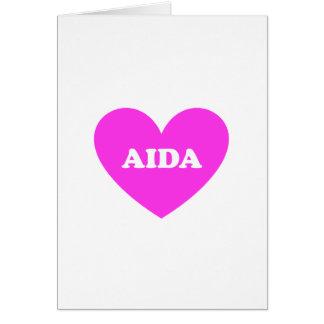 Cartão Aida