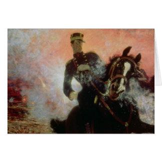 Cartão Albert mim rei dos belgas no primeiro mundo