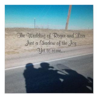 Cartão Alegria do casamento