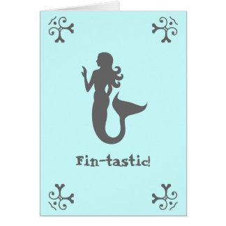 Cartão Aleta-tastic!