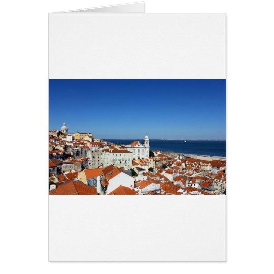 Cartão Alfama, Lisboa, Portugal