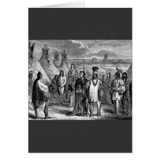 Cartão Americanos nativos