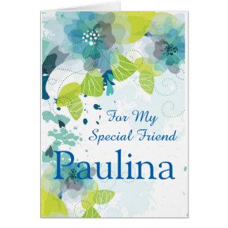 Cartão-Amigo conhecido feito sob encomenda do Cartão Comemorativo