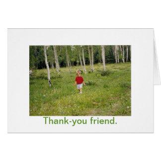 Cartão Amizade