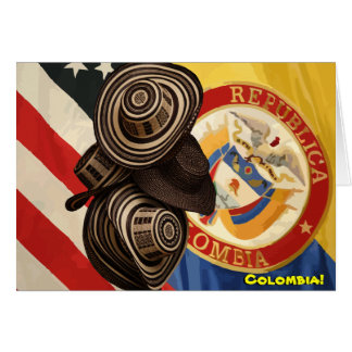 Cartão Amizade colombiana