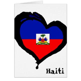 Cartão Amor de Haiti