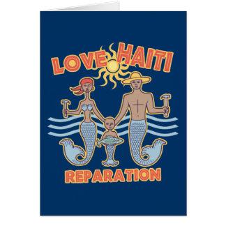 Cartão Amor Haiti