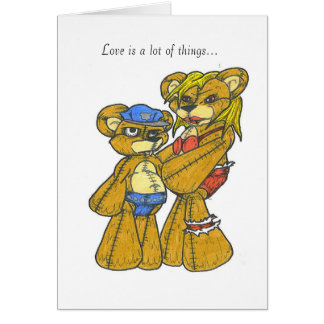 Cartão Amor Kinky