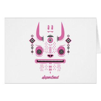 Cartão Animal super