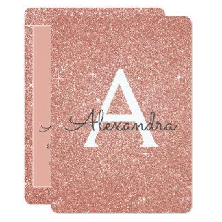 Cartão Aniversário cor-de-rosa do doce dezesseis do