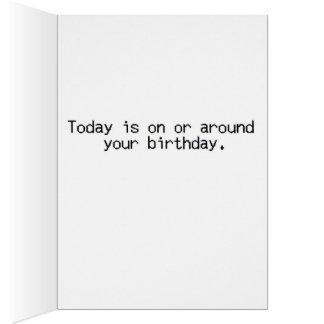 Cartão Aniversário do colega