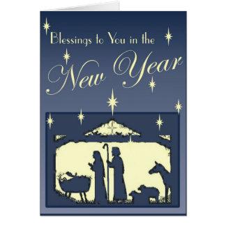 Cartão Ano novo