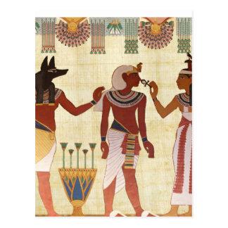 Cartão antigos, egípcios do estilo da arte