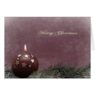 Cartão antique christmas card