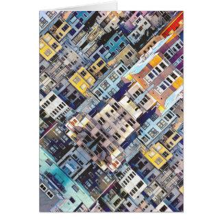 Cartão Apartamentos na cidade