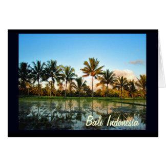 Cartão Aprecie suas férias