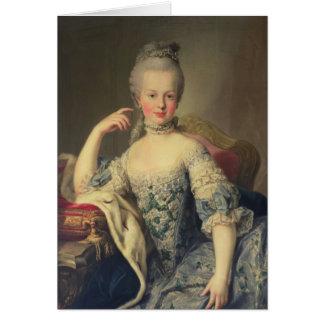Cartão Archduchess Marie Antoinette