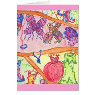 Cartão Armário das fadas