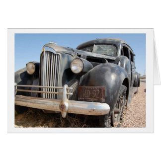 Cartão Arte clássica do carro