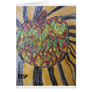 Cartão Arte da abóbora