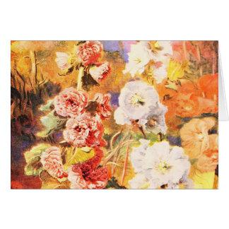 Cartão Arte do jardim do vintage - Fowler, Daniel