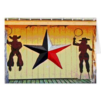 Cartão Arte do metal no Senor Amigo em 290, Austin, TX