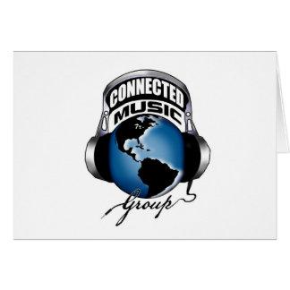 Cartão Artigos do logotipo de CMG