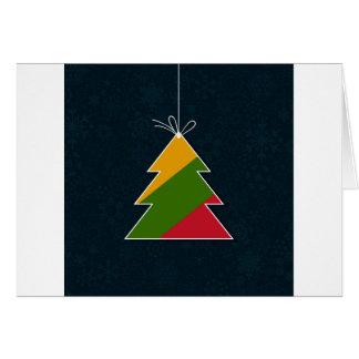 Cartão Árvore comemorativo
