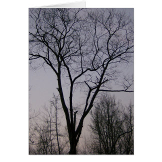 Cartão árvore da esperança