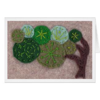 Cartão Árvore de Laura