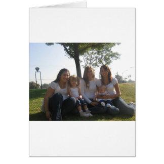Cartão as meninas