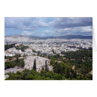 Cartão athina da vista