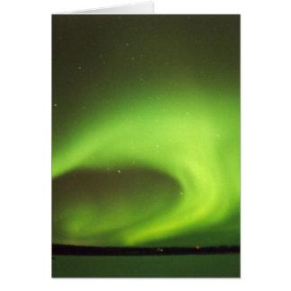 Cartão Aurora boreal