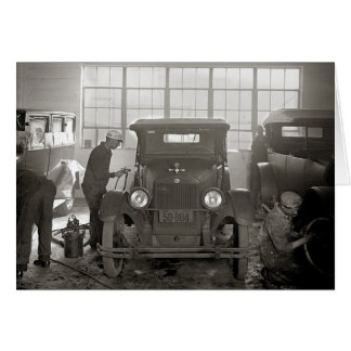Cartão Auto Body Shop, 1926