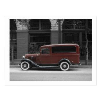Cartão - automóvel antigo cartao postal