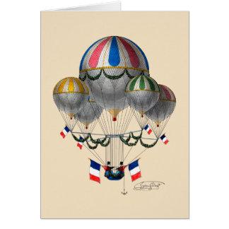 Cartão BA02298FAC01Z-Tribute ao Balloonist Eugene Godard