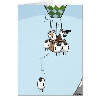 Cartão Ballooning da vaca