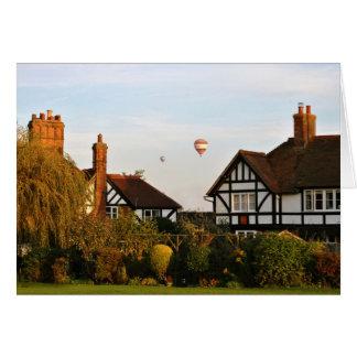 Cartão Ballooning sobre Wingrave