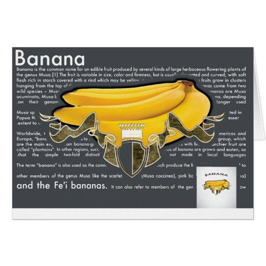 Cartão Bananas PostCard