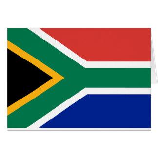 Cartão Bandeira de África do Sul - Vlag camionete