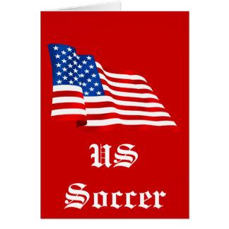 Cartão Bandeira velha da glória dos E.U. dos Estados