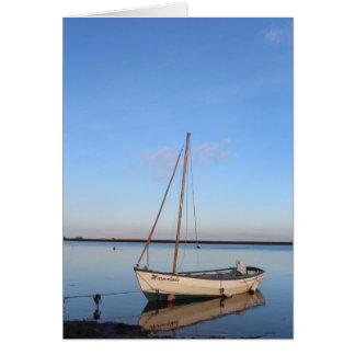Cartão Barco do Poço-Seguinte--Mar