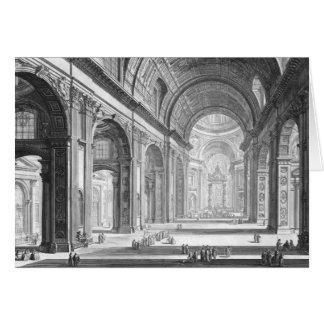 Cartão Basílica San Pietro Vaticano 1750