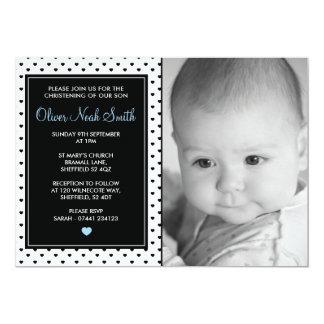 Cartão Batismo do bebé/convite do baptismo