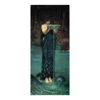 Cartão Belas artes do Victorian, Circe Invidiosa pelo