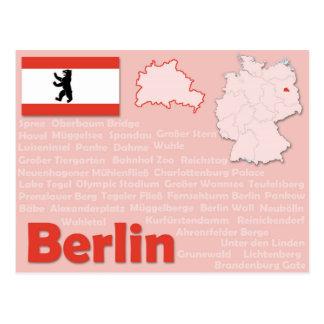 """Cartão """"Berlim """""""