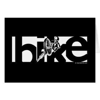 Cartão Bicicleta