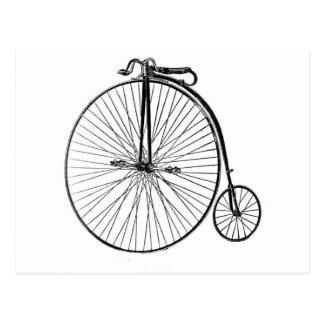 Cartão - bicicleta antiga