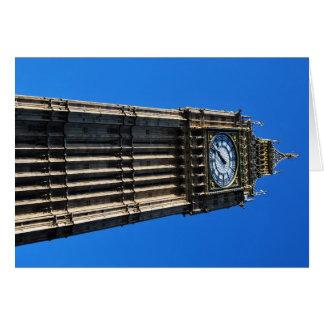Cartão Big Ben
